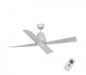 FARO 33489 - Stropný ventilátor TYPHOON IP44 šedá