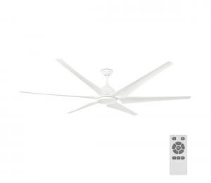FARO 33512 - Stropný ventilátor CIES biela