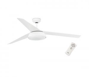 FARO 33549 - LED Stmievateľný stropný ventilátor VULCANO LED/25W/230V biela