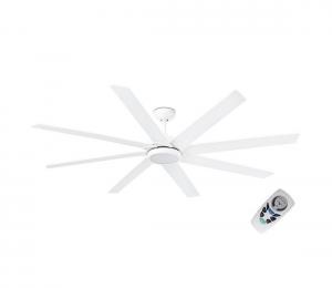 FARO 33553 - LED Stropný ventilátor CENTURY LED/15W/230V biela