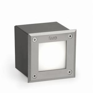 FARO 71497N - LED Vonkajšie nájazdové svietidlo LED/3W/230V IP67 6000K