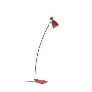 FARO RETRO červená podlahová lampa 20009