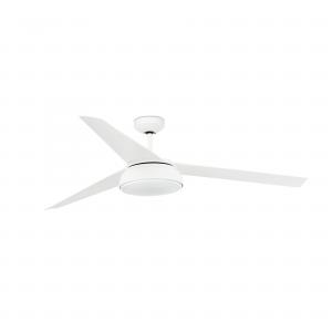 FARO VULCANO LED bílý stropní ventilátor s DC motorem 33549