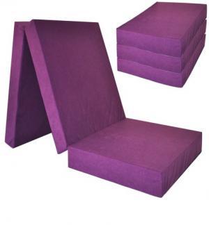 FI Skladací matrac 195x80x10 Farba: Karamelová