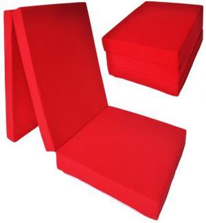 FI Skladací matrac 195x80x15 Farba: Granátová