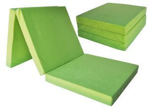 FI Skladací matrac 195x80x15 Farba: Sivá