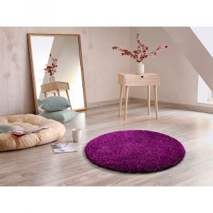 Fialový koberec Universal Aqua, Ø80cm