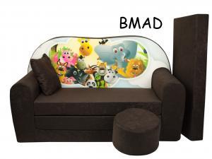 FIMEX Rozkladacia detská pohovka MAXI Vzor: BMAD