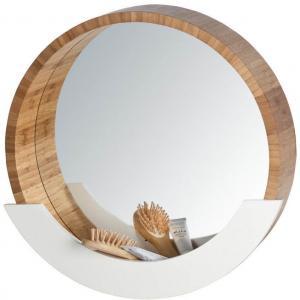 Finja Nástenné zrkadlo s poličkou