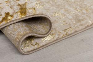 Flair Rugs koberce Kusový koberec Eris Arissa Gold - 200x290 cm