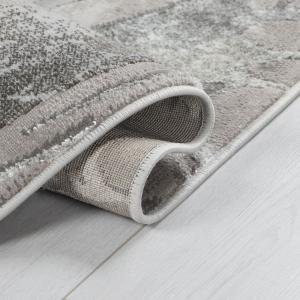 Flair Rugs koberce Kusový koberec Eris Marbled Silver - 160x230 cm