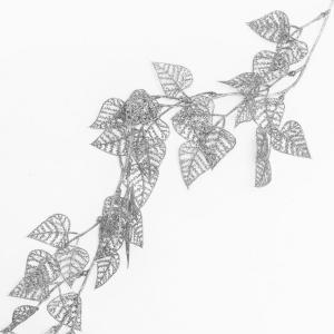 Florasystém Girlanda glitter 150cm strieborná 8200651