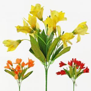 Florasystém Kytica alstromeria mix 3 farby x5 33cm 1000547
