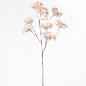 Florasystém Vianočná Hydrangea 78cm lososová 8200392