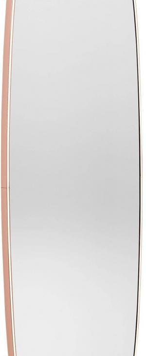 FLOS FLOS La Plus Belle LED nástenné zrkadlo, medené