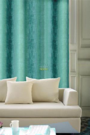 Forbyt, Záves dekoračná alebo látka, OXY Impress 150 cm, tyrkysový
