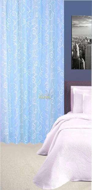 Forbyt, Záves dekoračná alebo látka, Tonia, svetlo modrá, 145 cm
