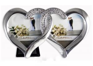 Fotorámik svadobný, PF02, 2 srdcia