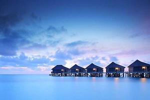 Fototapeta Maledivy 2045 - vinylová