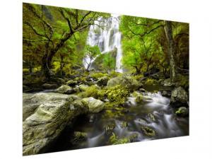 Fototapeta Nádherný jarný vodopád 200x135cm FT2484A_1AL