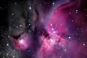 Fototapeta Vesmír - Hmlovina M42 v Orione 181 - vinylová