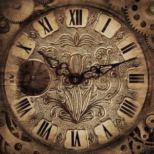 Fototapeta Vintage clock ft-51272901 - vliesová
