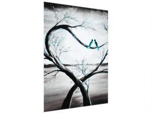 Fototapeta Vtáčiky v tyrkysovom svite mesiaca 150x200cm FT4194A_2M