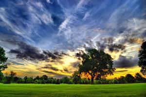 Fototapeta Západ slnka 327 - vliesová