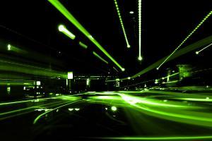 Fototapeta Zelená abstrakcia 407 - vliesová