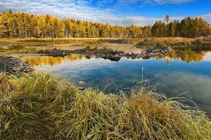 Fototapety Jazero v jeseni 3265 - latexová