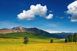 Fototapety Výhľad na hory 3212 - vliesová
