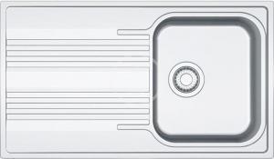 FRANKE FRANKE - Smart Nerezový dřez SRX 611-86, 860x500 mm (101.0395.016)