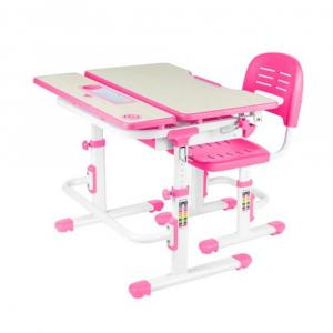 Fundesk Rastúci stôl LAVORO + stolička Farba: Sivá