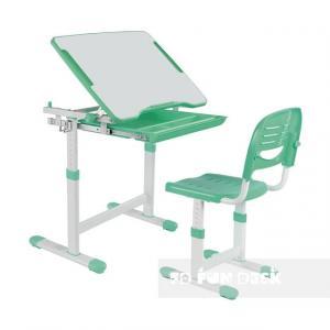 Fundesk Rastúci stôl PICCOLINO + stolička Farba: Sivá