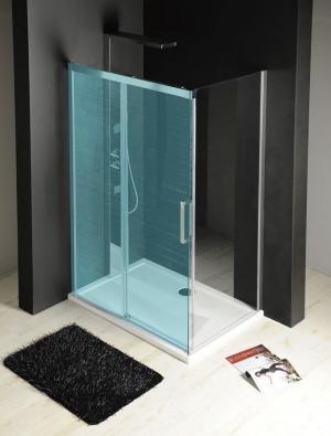 GELCO - FONDURA boční stěna 1000mm, čiré sklo (GF5001)