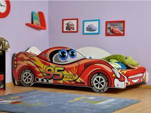 GL Auto posteľ Viper Red 180x90