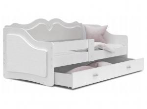 GL Detská posteľ Lalila Biela Variant veľkosť postele: 180x80