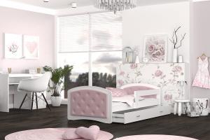 GL Detská posteľ Nath Biela Rozmer: 180x80