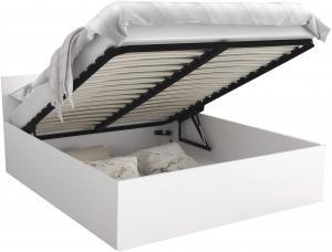 GL Manželská posteľ Dolly - biela Rozmer: 140x200
