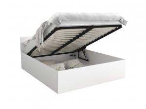 GL Manželská posteľ Dolly - biela Rozmer: 180x200
