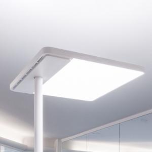 GLamOX Stojaca LED lampa Linea-F, s dotykovým stmievačom
