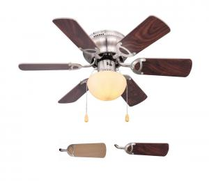 Globo 03802 - Stropný ventilátor UGO 1xE27/60W/230V