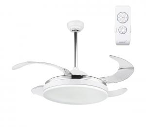 GLOBO 351 - LED Stropný ventilátor s diaľkovým ovládačom CABRERA LED/36W/230V