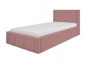 GM Detská čalúnená posteľ Fiona 90x200 - ružová