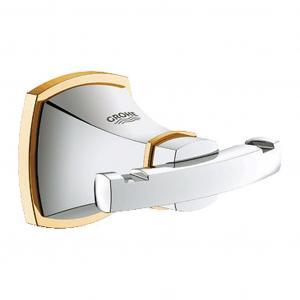 Grohe Grandera - Háčik na kúpací plášť, chróm/zlato 40631IG0