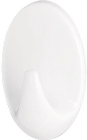 Háčik veľký oválny farba: biely