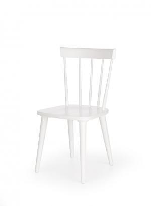 HALMAR Barkley jedálenská stolička biela
