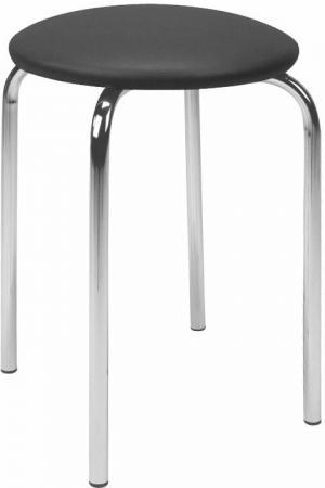 HALMAR Chico stolička bez operadla čierna (V04)