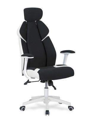 HALMAR Chrono kancelárske kreslo s podrúčkami čierna / biela