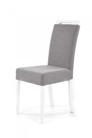 HALMAR Clarion jedálenská stolička biela / sivá